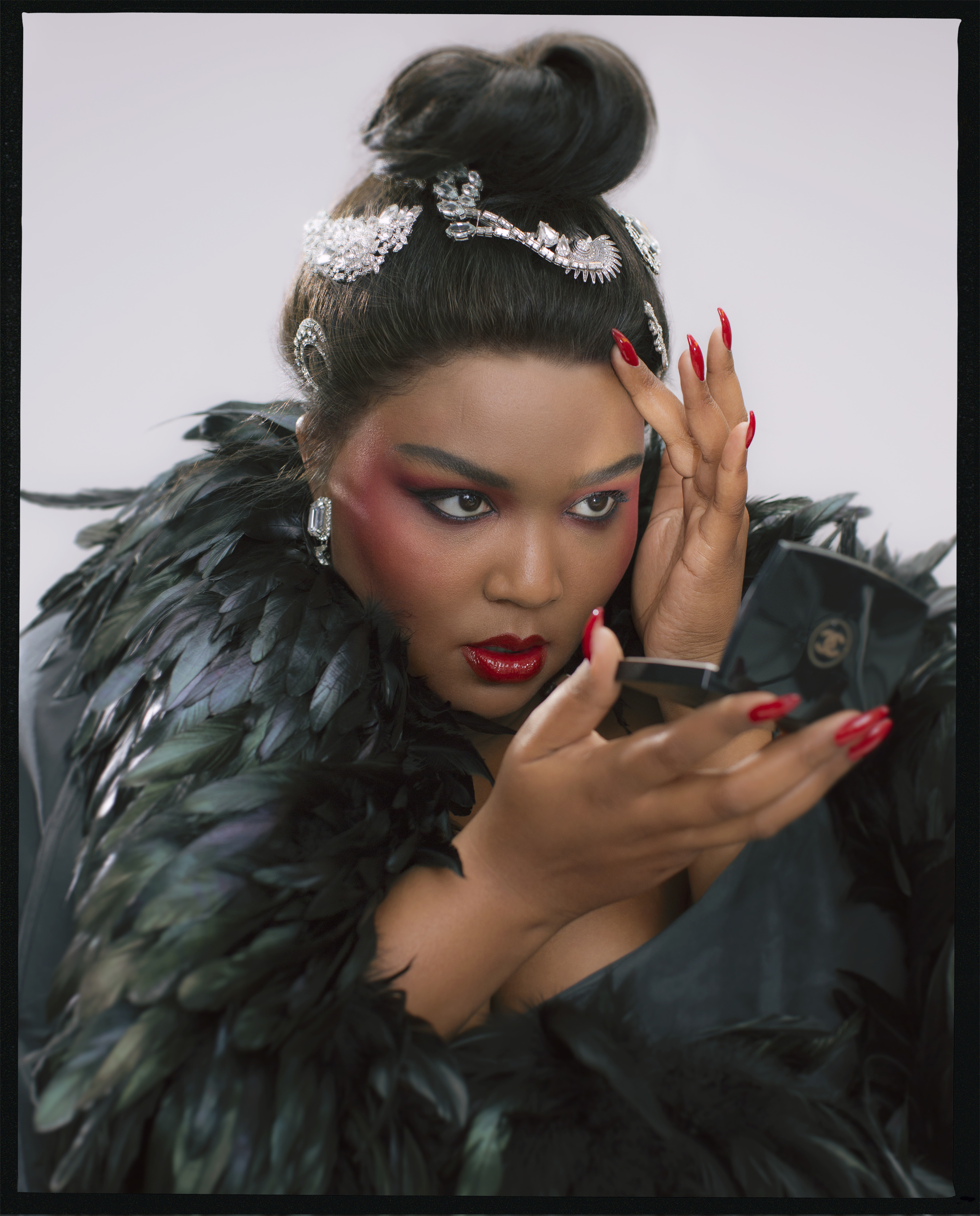 Lizzo, Allure magazine cover shoot, 2019