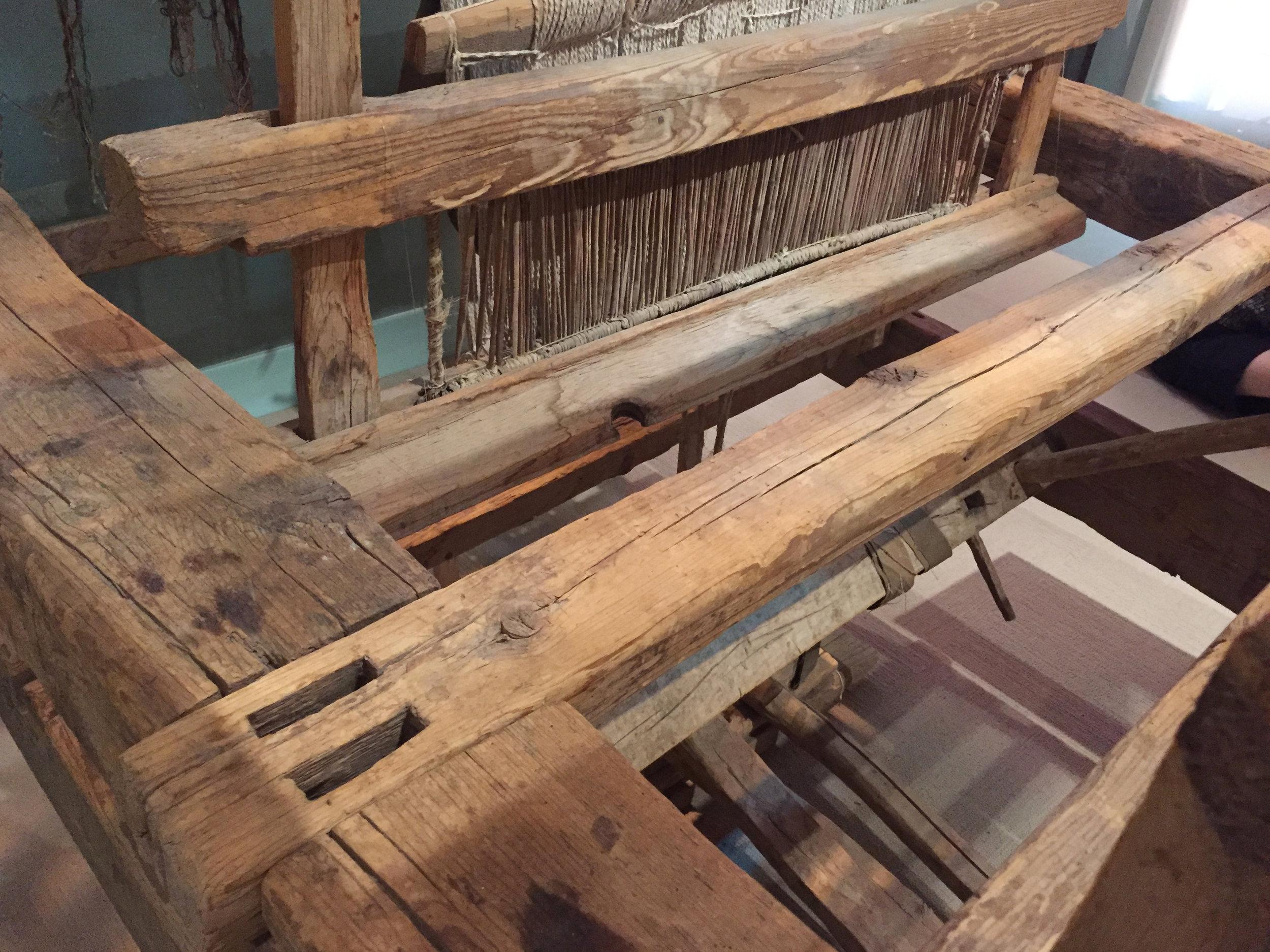 Colonial-Era Rio Grande Floor Loom at the Albuquerque Museum