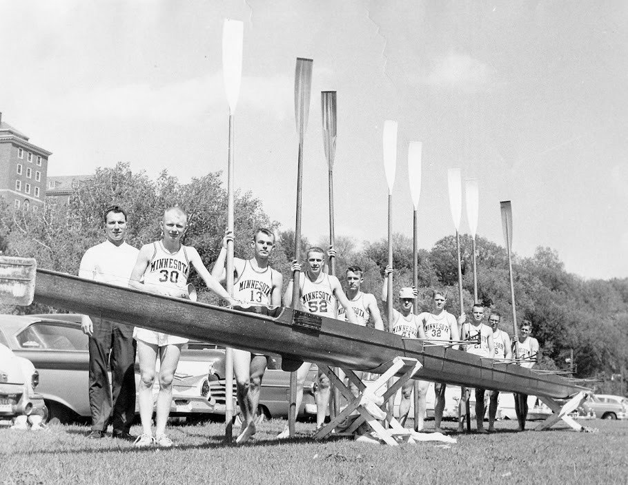alumni - Read more about the history of the influential rowers who helped build the program.