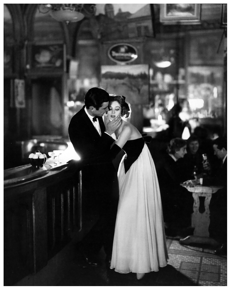 Suzy Parker & Gardner McKay, Dress by Balmain, Café des Beaux Arts, Paris 1956 - Silver print, 8 x 10 inches, framedSigned edition 12/100Price upon inquiry