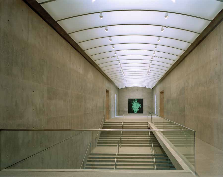 Interior, Modern Art Museum of Fort Worth - 40 x 50 inch color photographSigned, edition of 10price upon inquiry