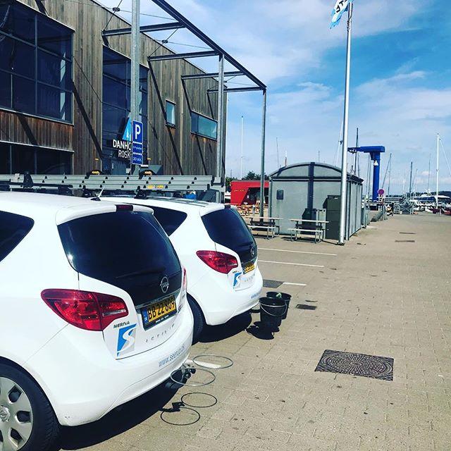 Bedste sommer i lange tider 😎👍🏻 #seerupvinduespolering #vinduespolering #renevinduer #roskildehavn @danhostel_dk