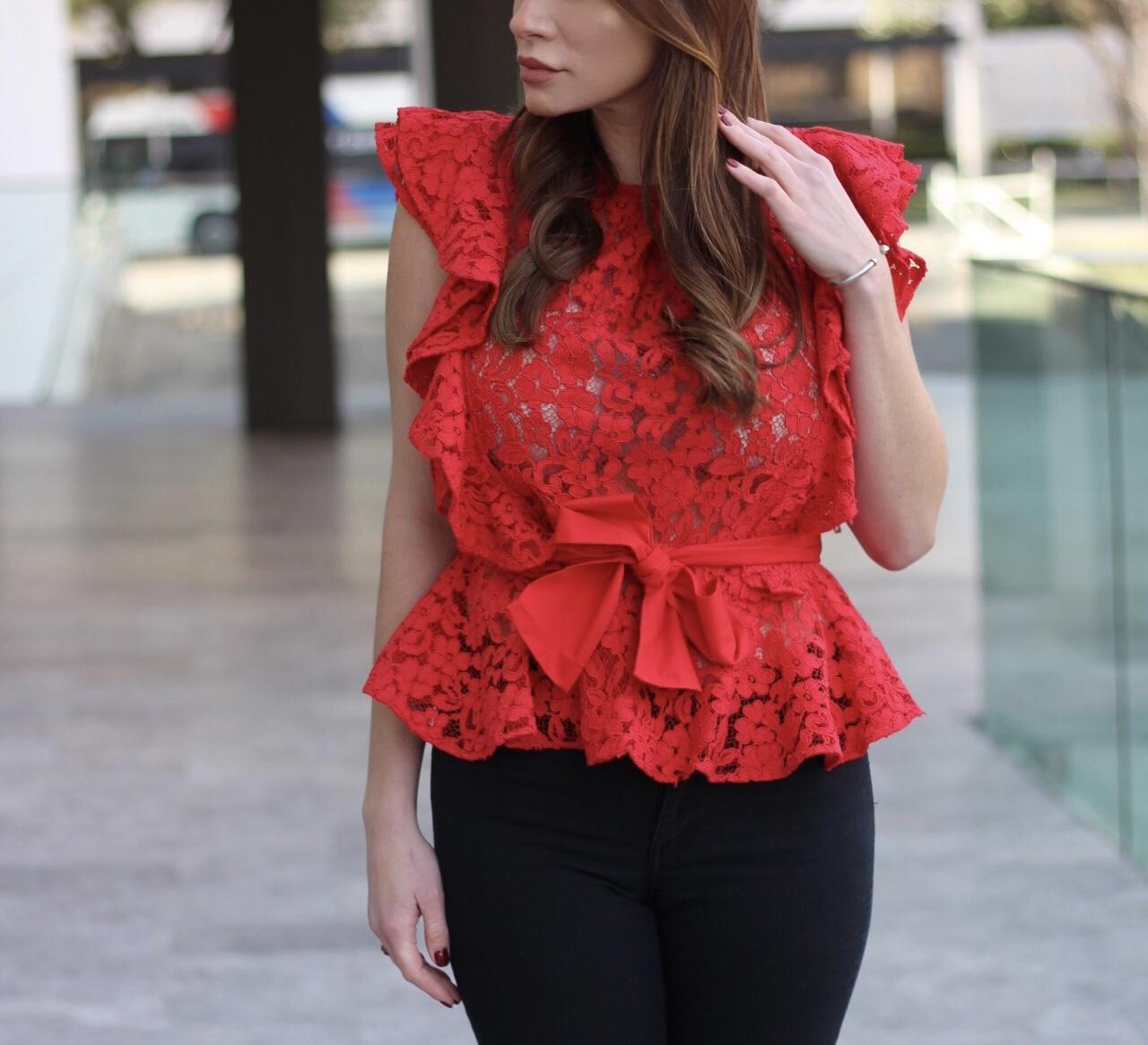Hannah Swiggard Lady in Red