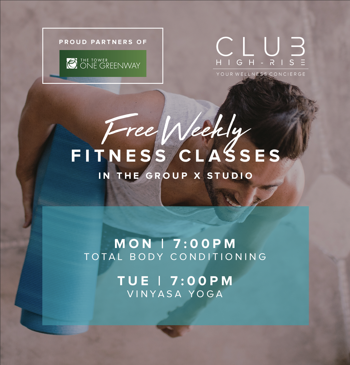 One Greenway Class Schedule
