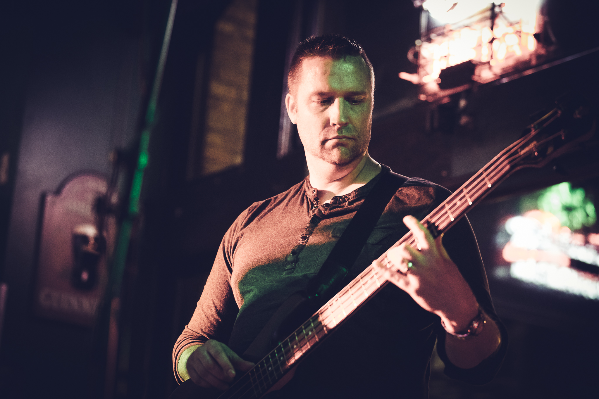 Pete Carlson - Bass Guitar / Vocals