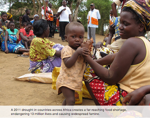 Fighting famine in the Horn of Africa>> -
