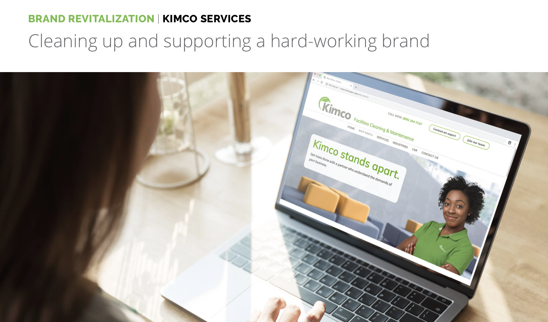 Click on the image to read the case study I wrote for Kimco