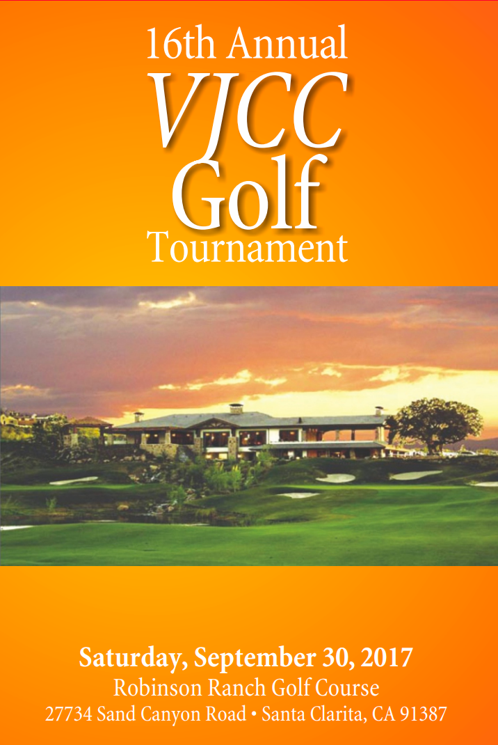 - September 30VJCC Golf Tournament8:15 AM-4:00 PMRobinson RanchGolf Course