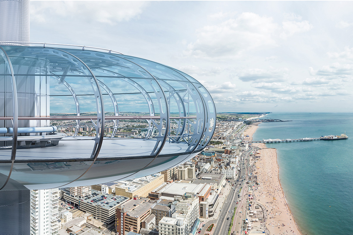 British Airways i360 - Book your flight and see Brighton from the clouds! This spectacular 360 degree platform brings you in a few minutes to this stunning spot in the air. From 138m above Brighton Beach, just imagine the Sussex selfies with your best friends! Photos and memories guarantee! And the cherry on top, a bar is open for some bubbly! What else would you need for a successful hen party or birthday!