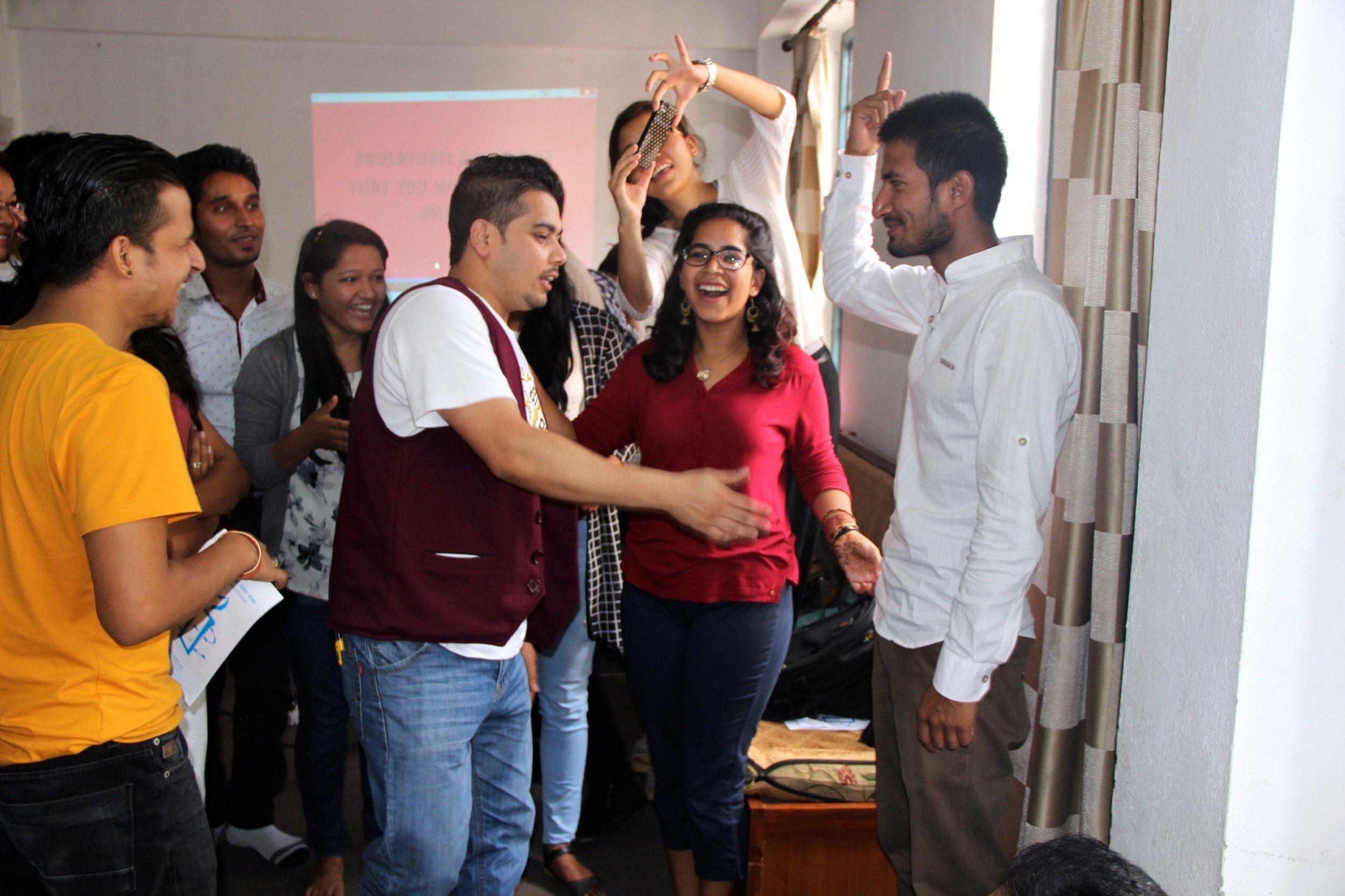 Workshop on Creative Resistance at Teach-in for Radical Hope, December 2016.