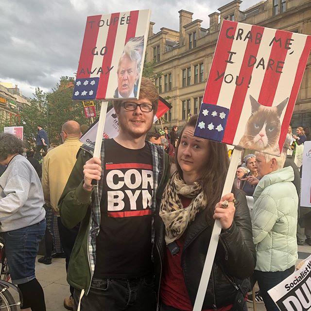 Trump Protest.