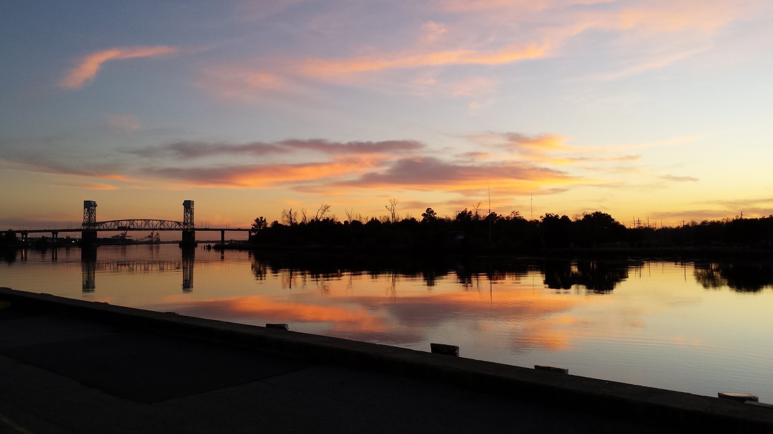 Sunset on the Cape Fear River.jpeg