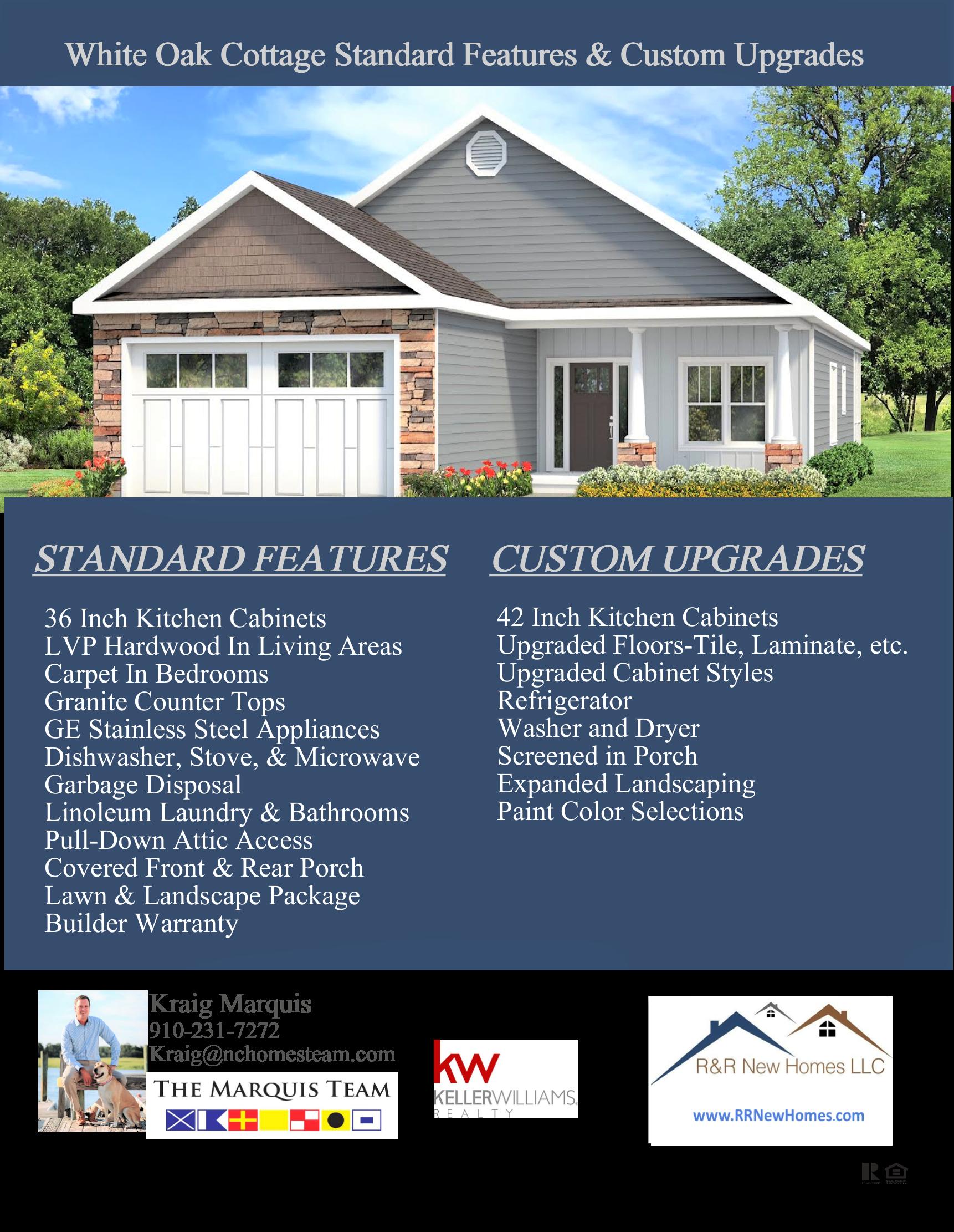 White Oak Standard Features List.png