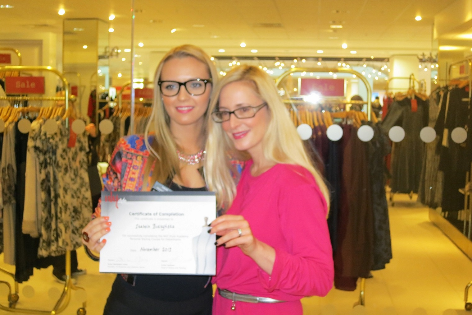Personal Shopper Training