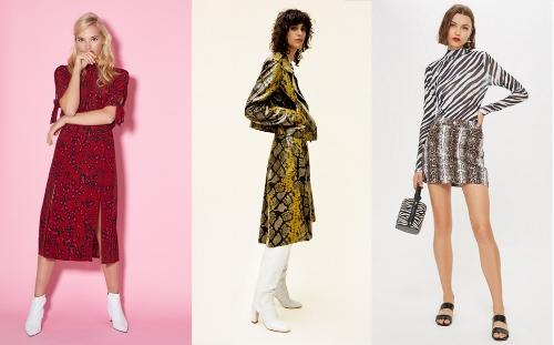 IMAGE L-R: Oliver Bonas, Zara, Topshop