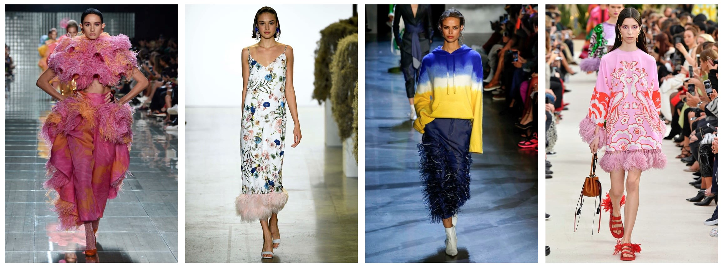 L-R: MARC JACOBS, BADGLEY MISCHKA, PRABAL GURUNG, VALENTINO    Images: tag-walk.com