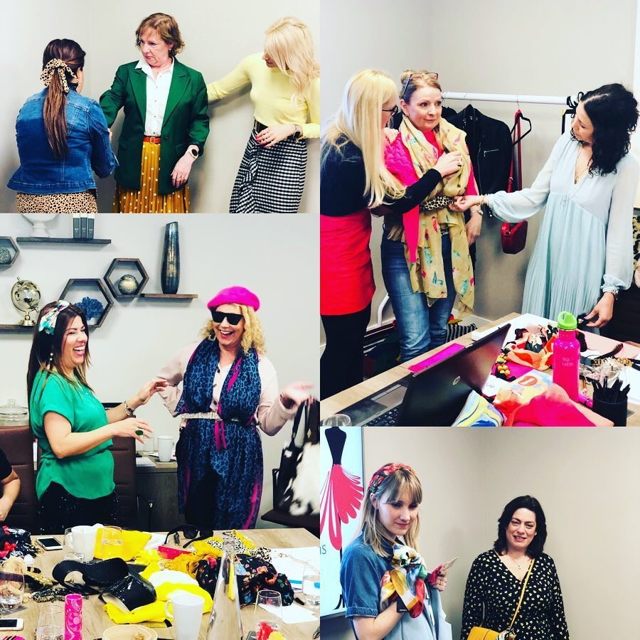 Personal Stylists in training