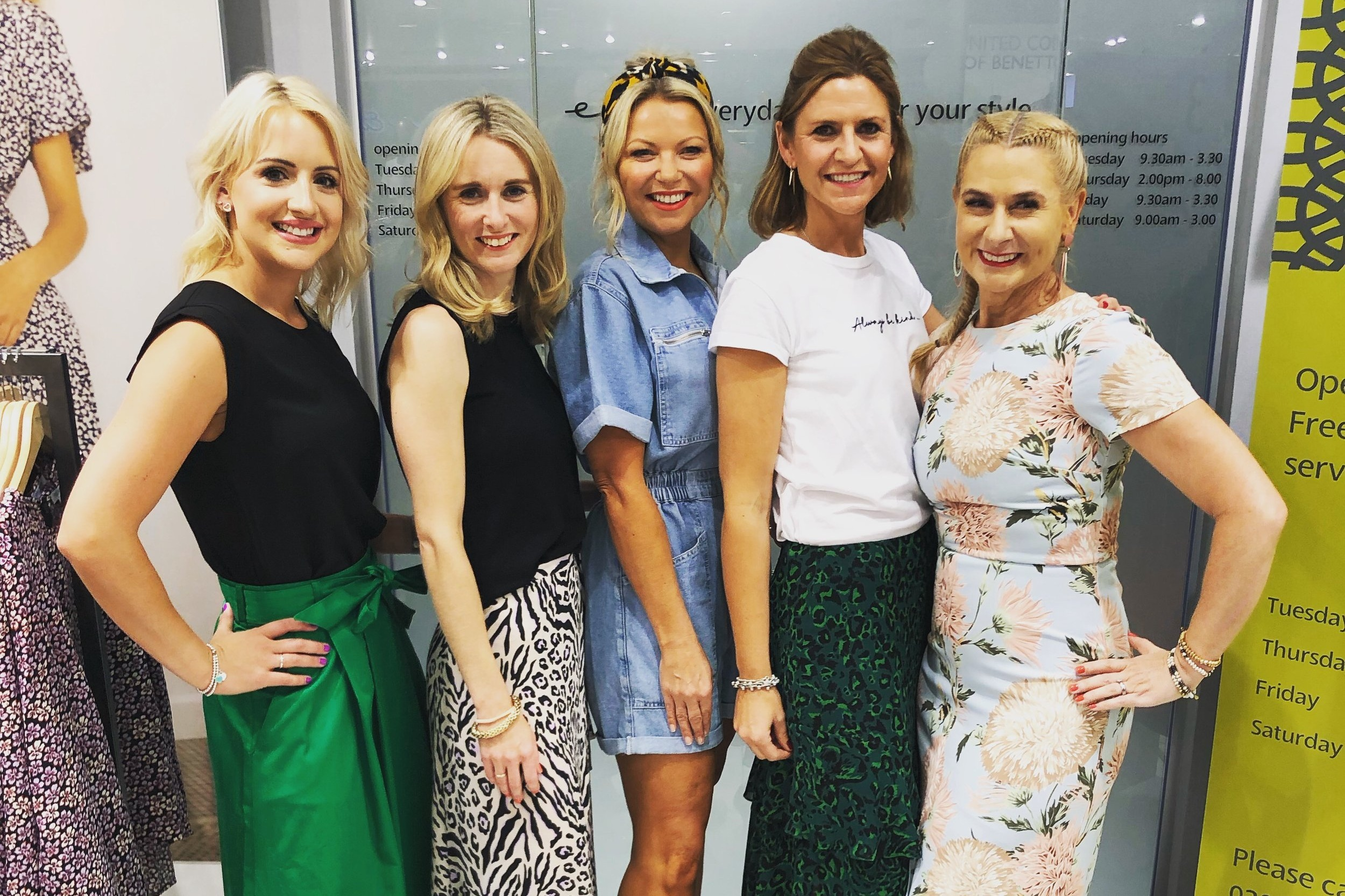 NHJ Style Personal Stylists at Elys of Wimbledon Summer Fashion Event