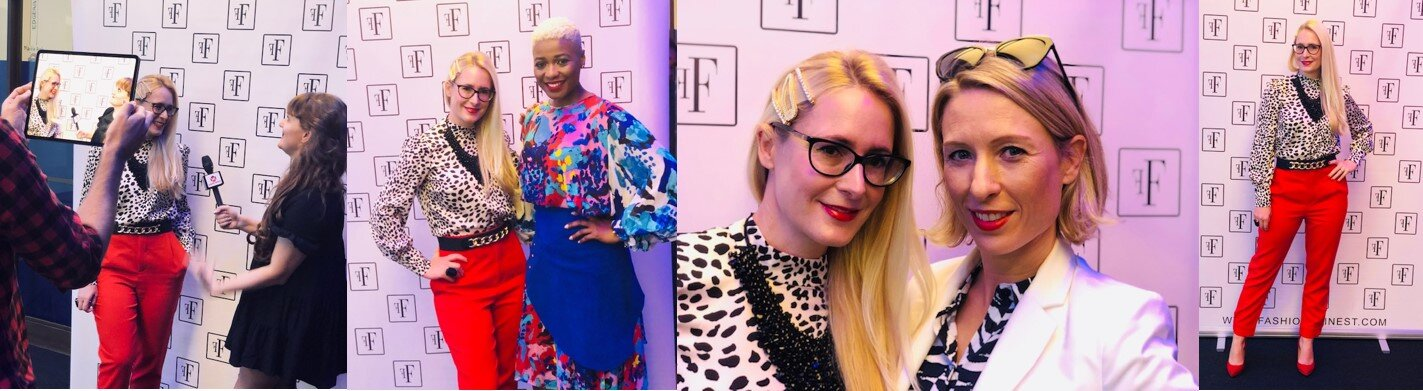 Nicky Hambleton-Jones at London Fashion Week