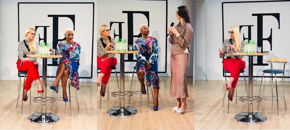 TV's Nicky Hambleton-Jones at Let's Talk Fashion Business for Fashions Finest