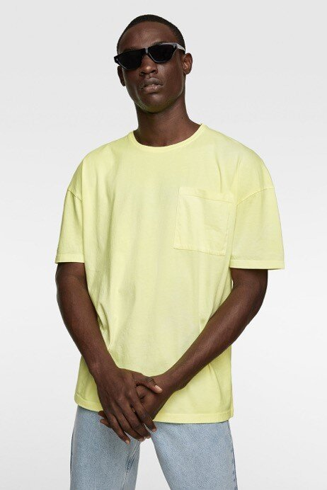 Neon t-shirt: Zara