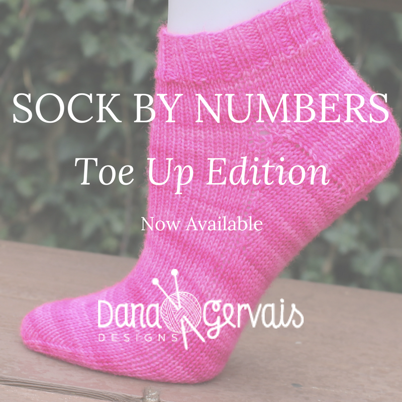 Sock By Numbers Toe Up