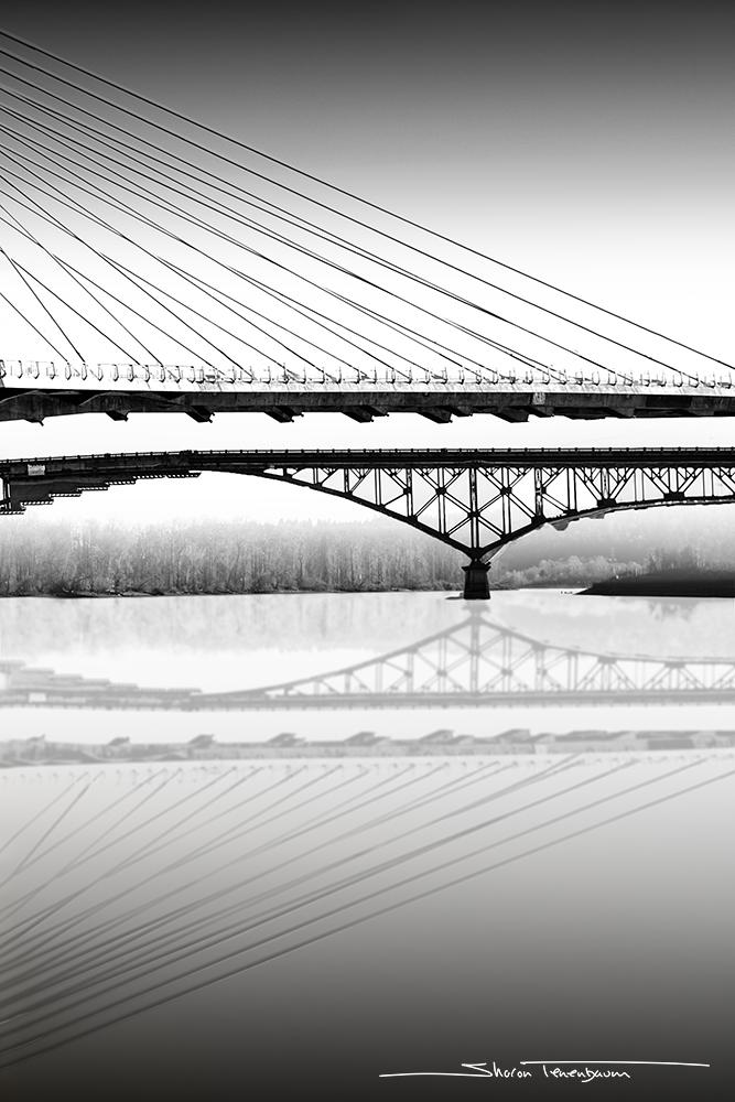 Tilikum Bridge, Portland Oregon