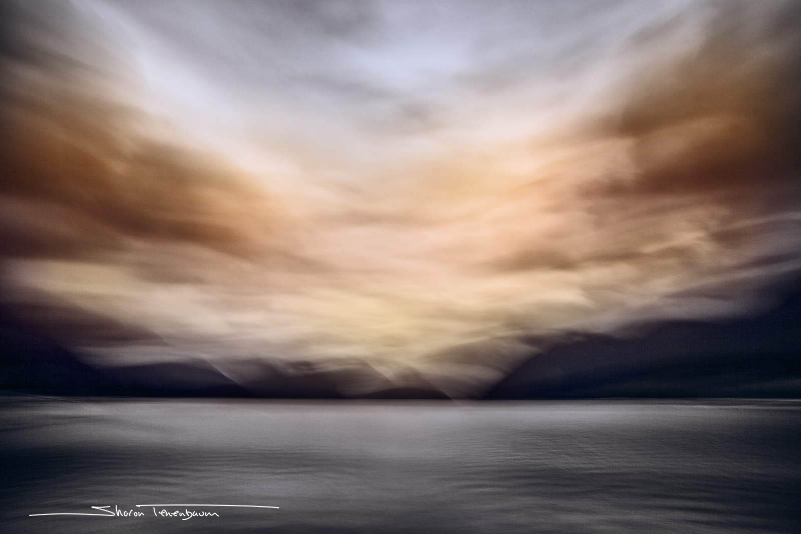 Landscape Image using ICM (Intentional Camera Movement)