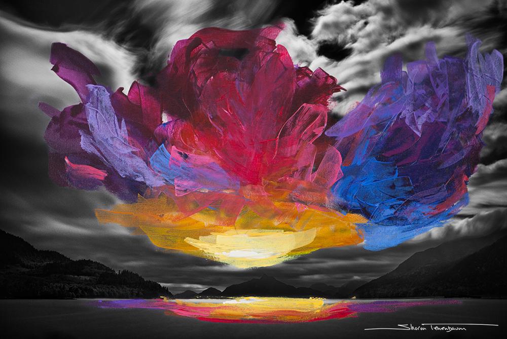 Howe Sound Sky Painted