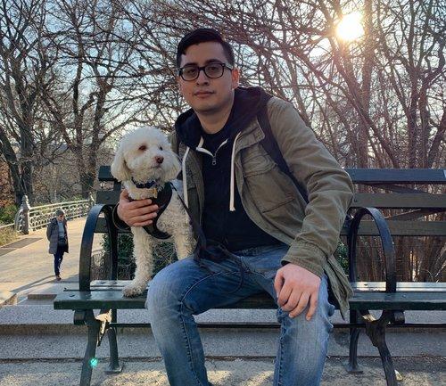 CARLOS TIGRE, DOG WALKER