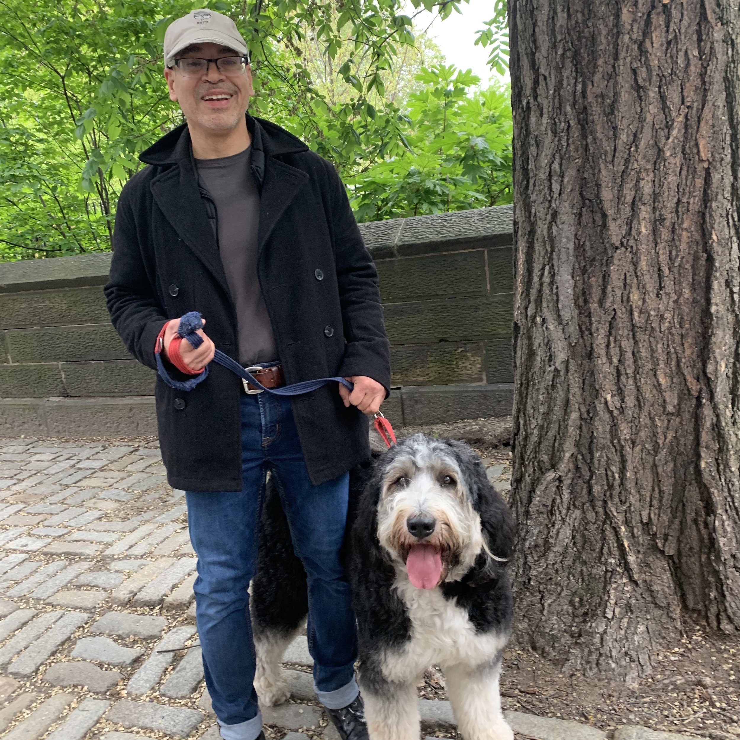 CHARLIE ARROYO, DOG WALKER  A TRUE NEW YORKER, CHARLIE HAS EXTENSIVE EXPERIENCE IN GRAPHIC DESIGN AND ILLUSTRATION. HOWEVER, HE HAS FOUND HIS TRUE CALLING AS A DOG LOVER AND HAS BEEN WORKING WITH DOGS FOR OVER TWO YEARS.