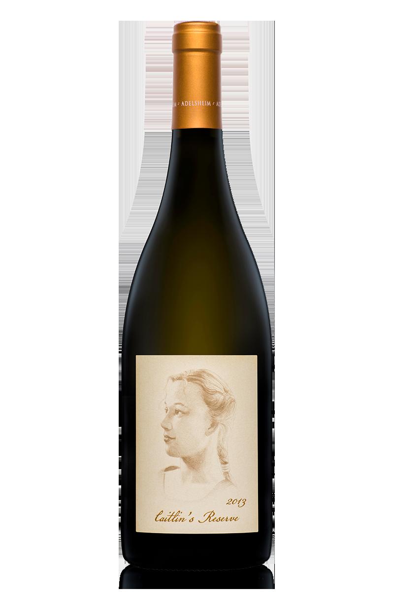 2013 CAITLIN'S RESERVE CHARDONNAY - bottle shotlabel front / label backdescription sheetdownload all