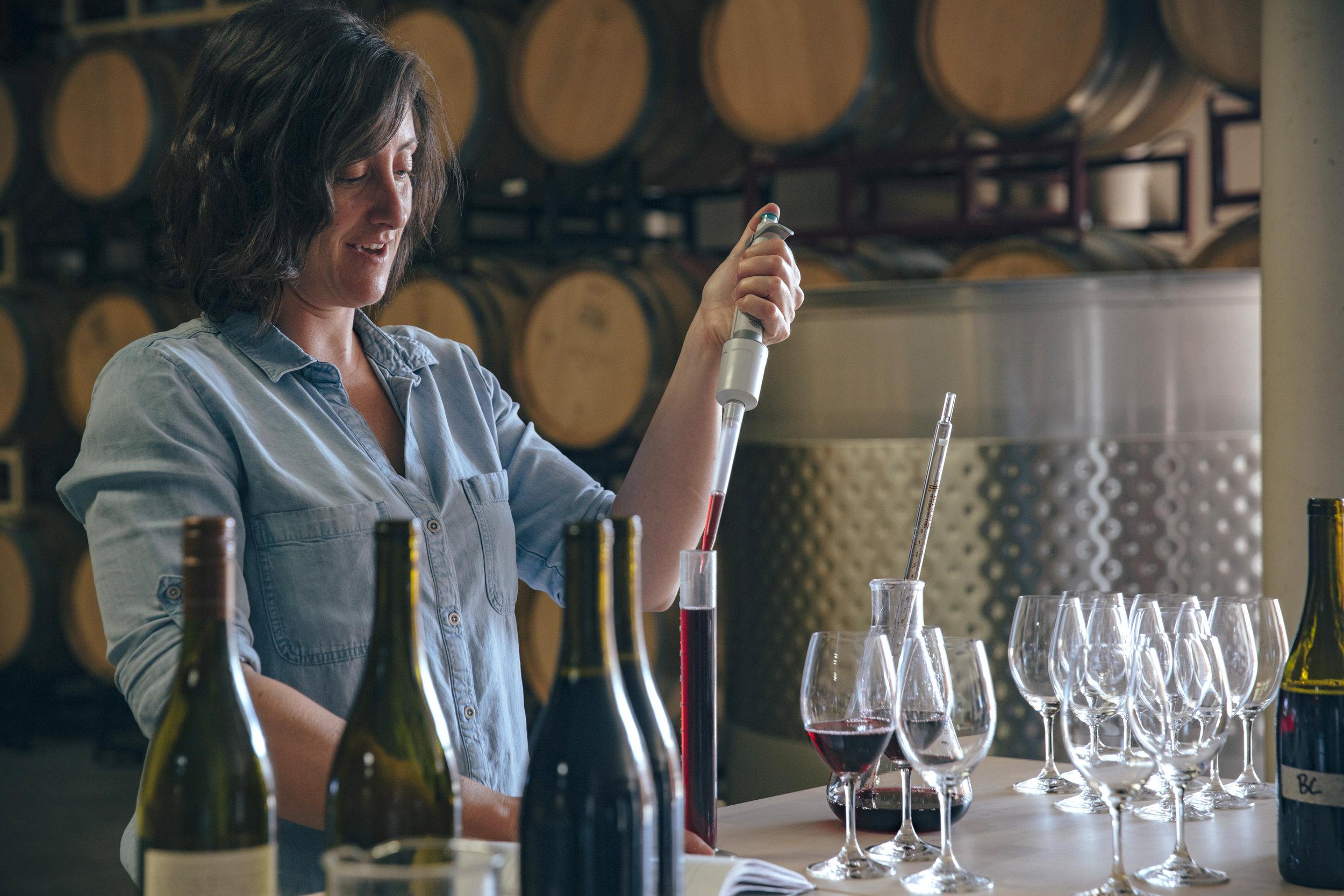 Gina Hennen Winemaker