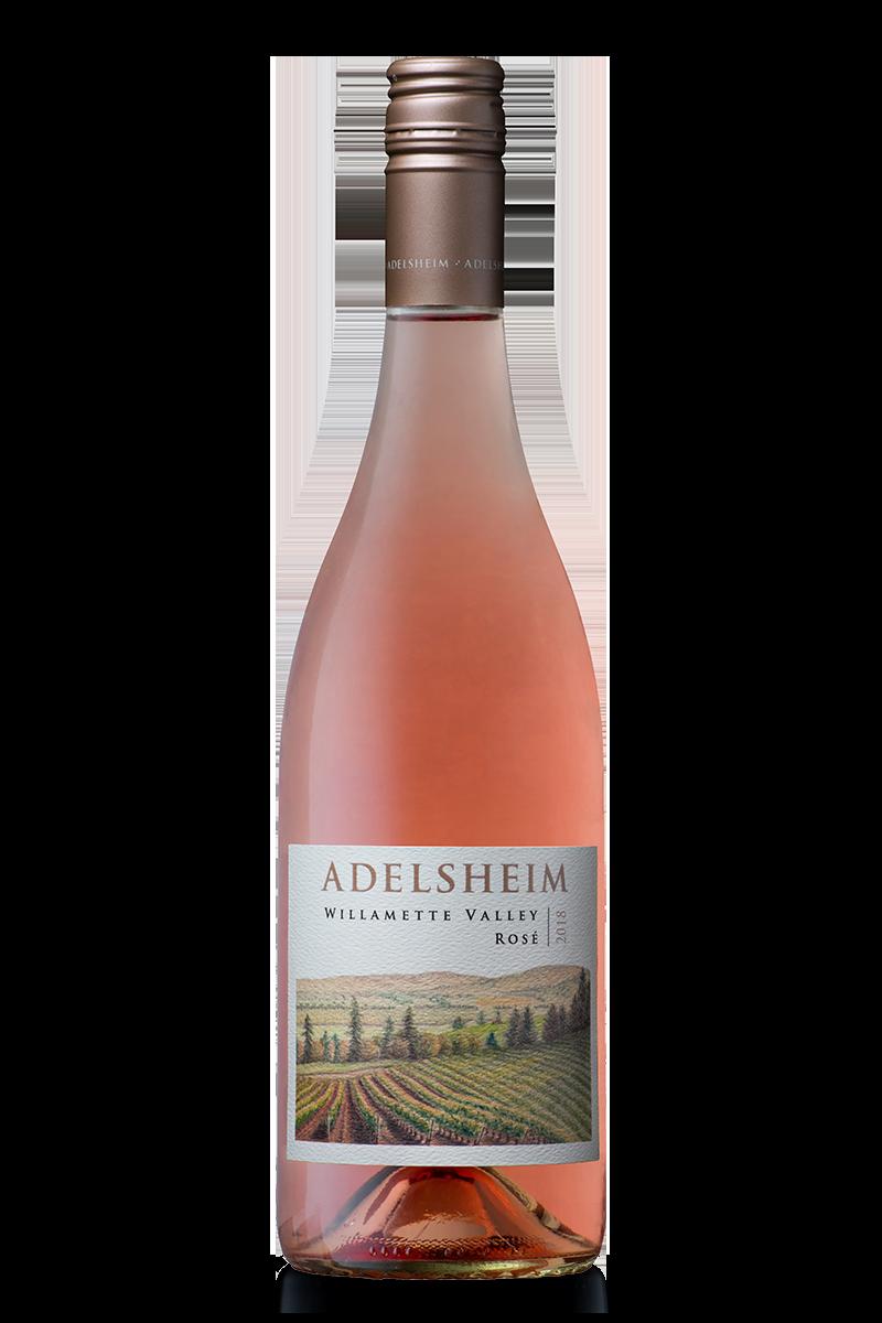 2017 Willamette valley Rose´ - bottle shotlabel front / label backdescription sheetshelf talkersdownload all