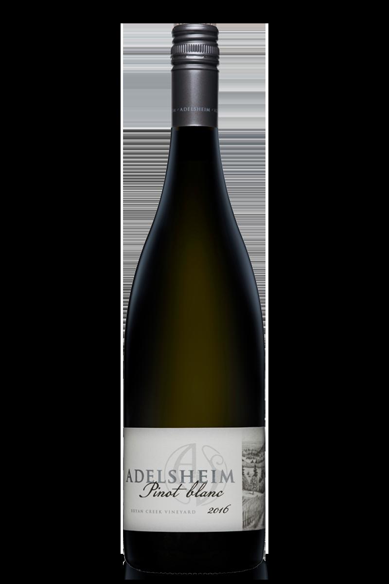 2016 Pinot blanc - bottle shotlabel front / label backdescription sheetshelf talkersdownload all