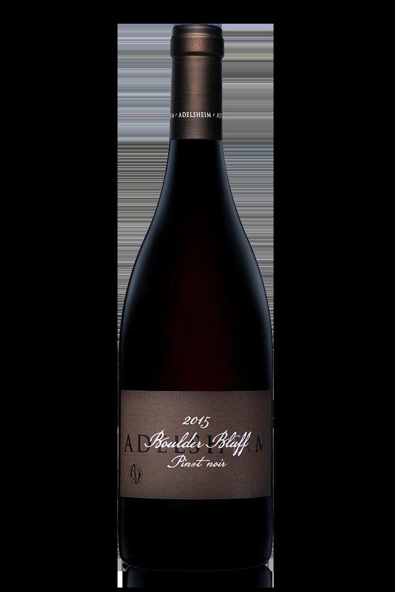 2015 boulder bluff pinot noir - Bottle Shotlabel front / label backDescription SheetDownload All