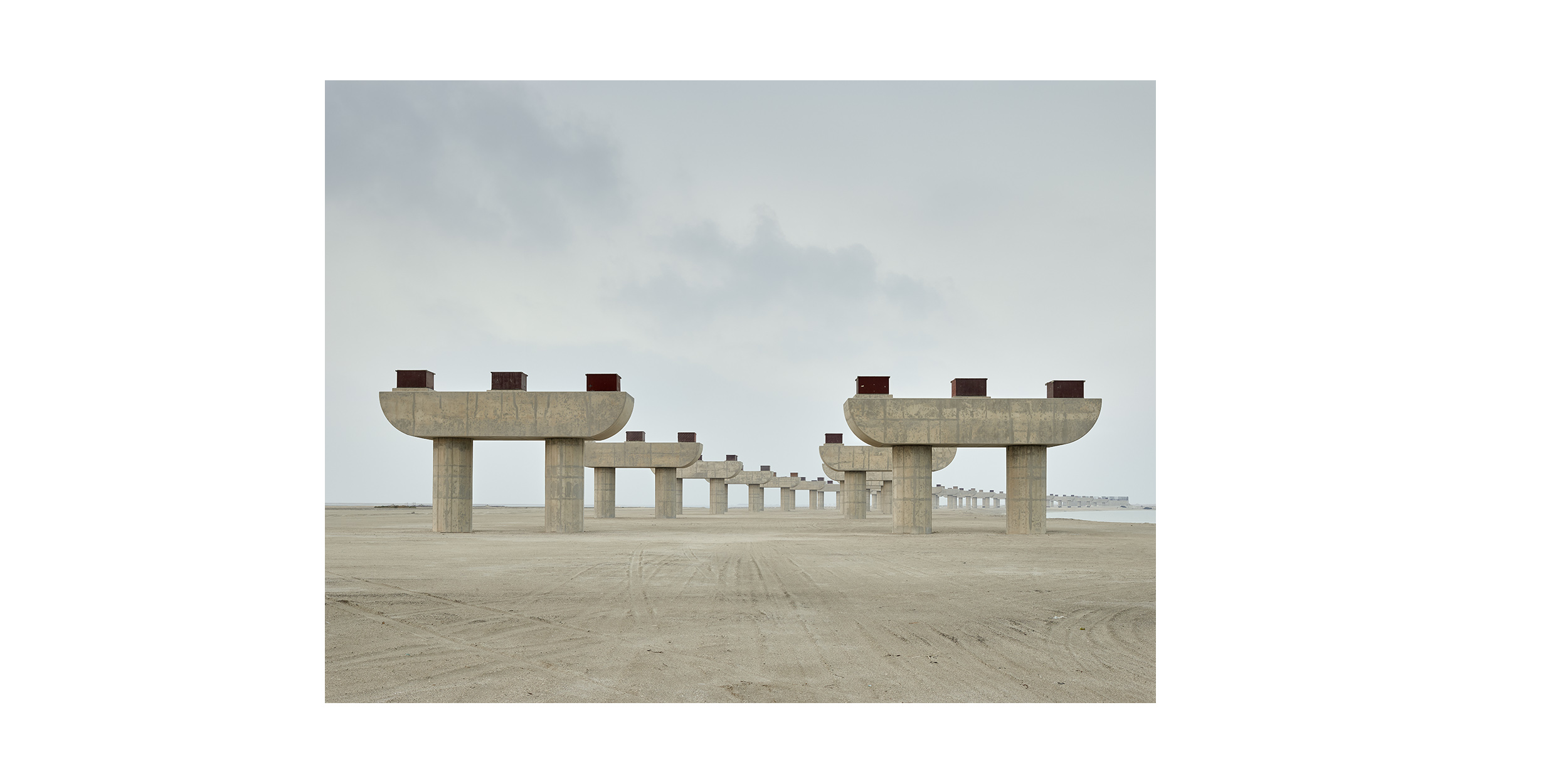 Bridge, Jebel Ali, Dubai, from the series 'The Edge'