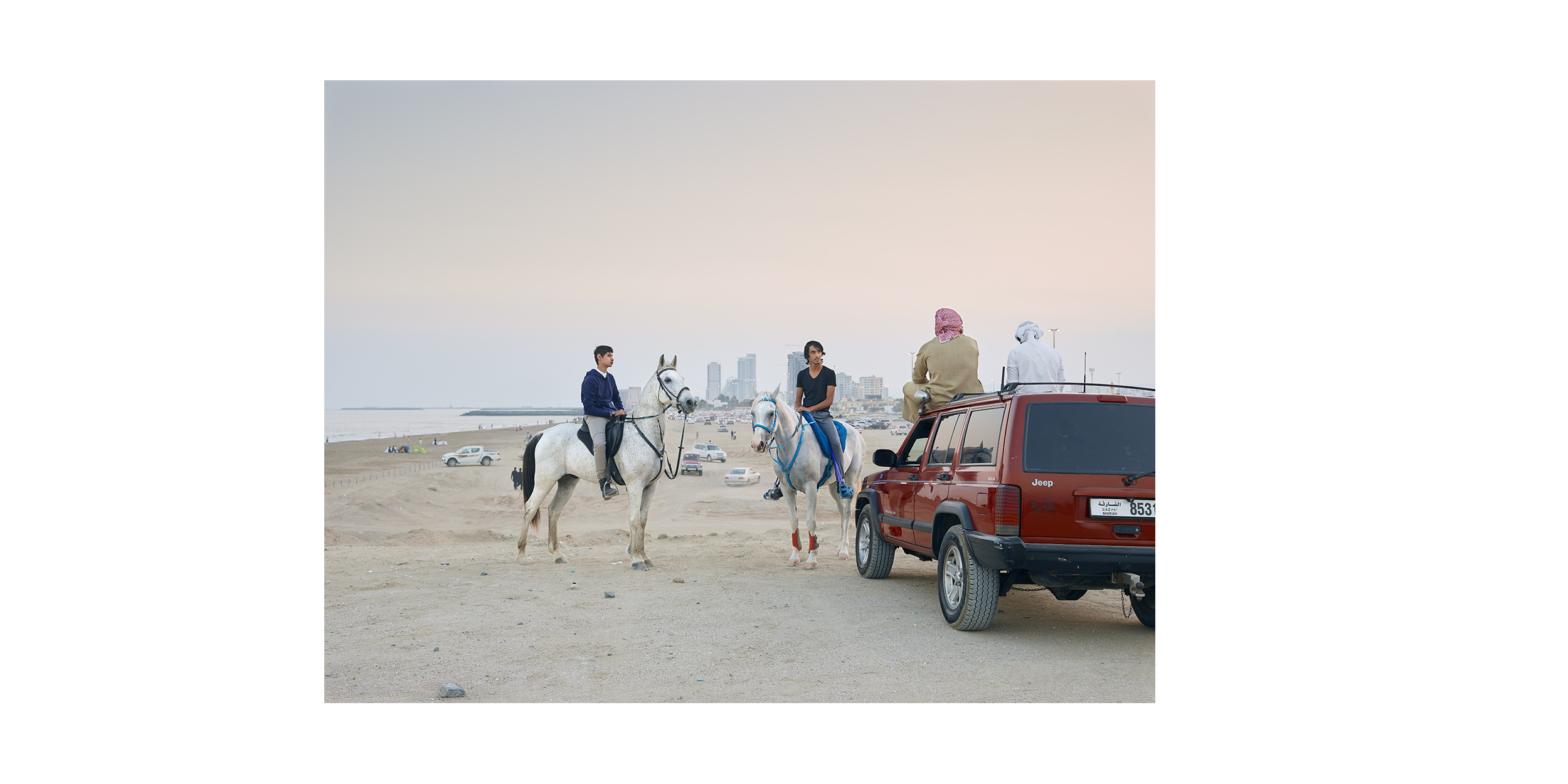 Friday, Fujairah, from the series 'The Edge'