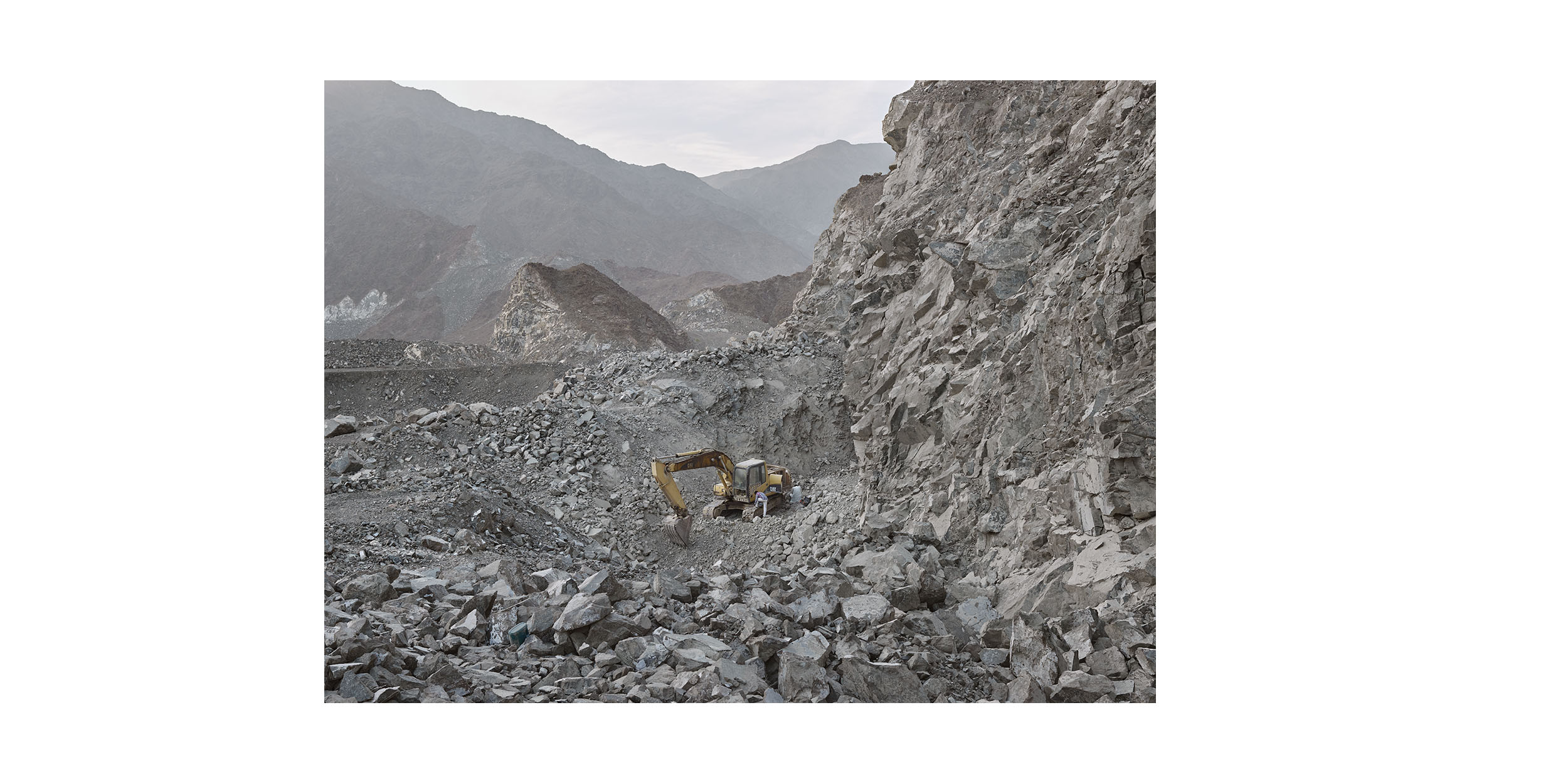 Quarry, Al Hayl, Fujairah, from the series 'The Edge'