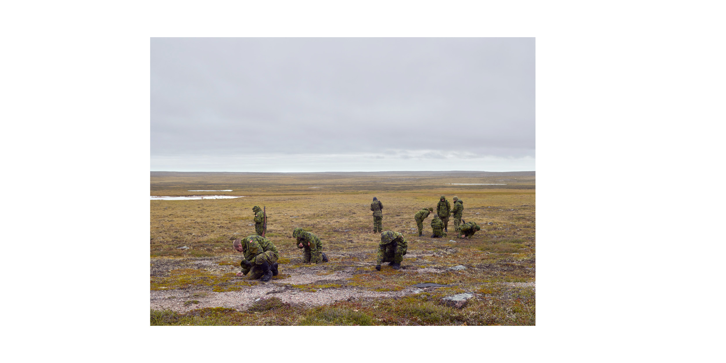 Arctic Response Company Learn Traditional Skills, Rankin Inlet, from the series 'Arctic Front'