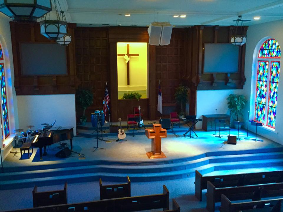 First Baptist Church Weslaco   Celbrating God's Story    Worship Services