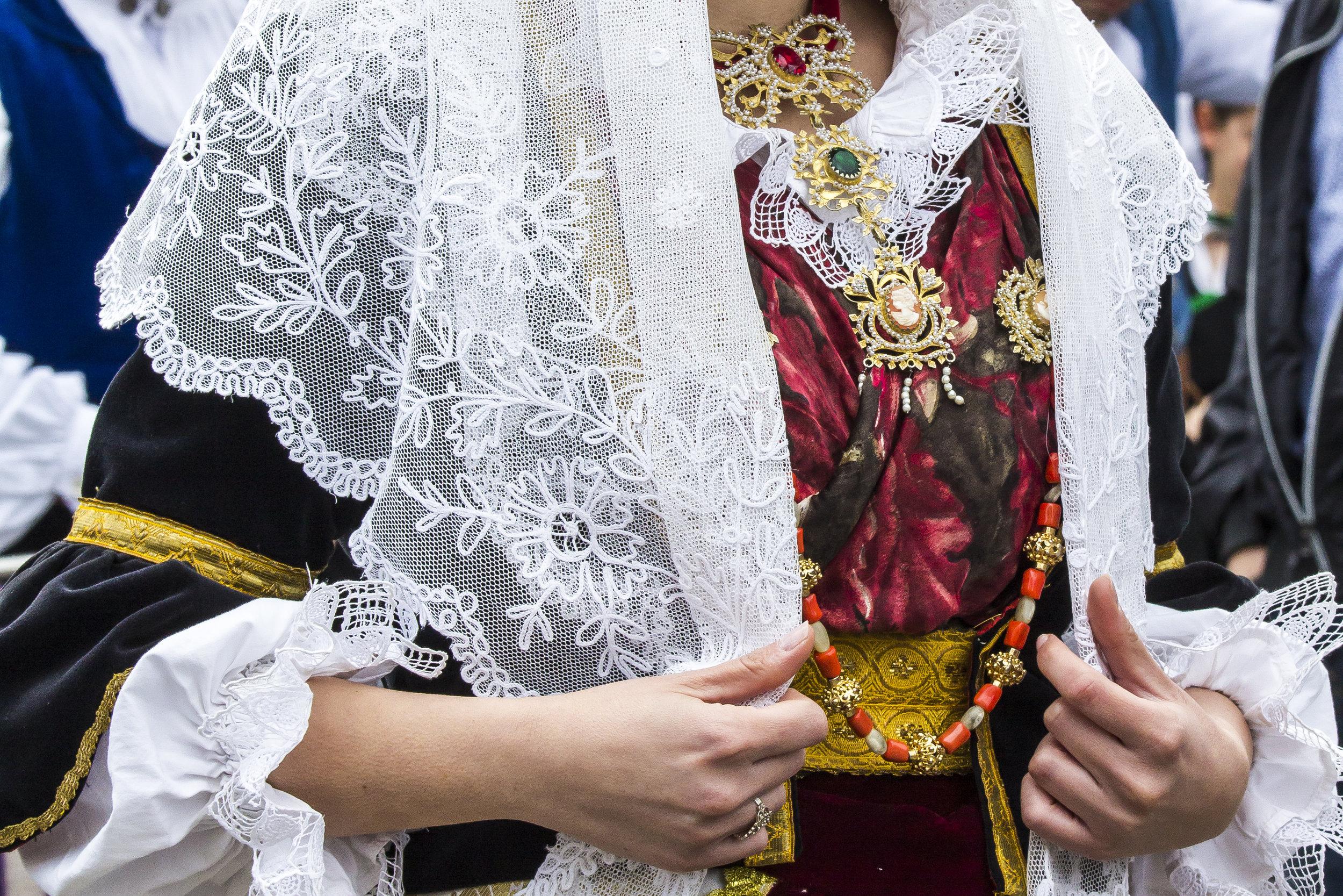 Typical Sardinian Dress