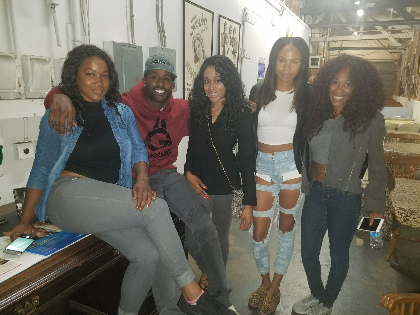 """BTS of the short """"Raydemption"""" with actor Jackie Long"""