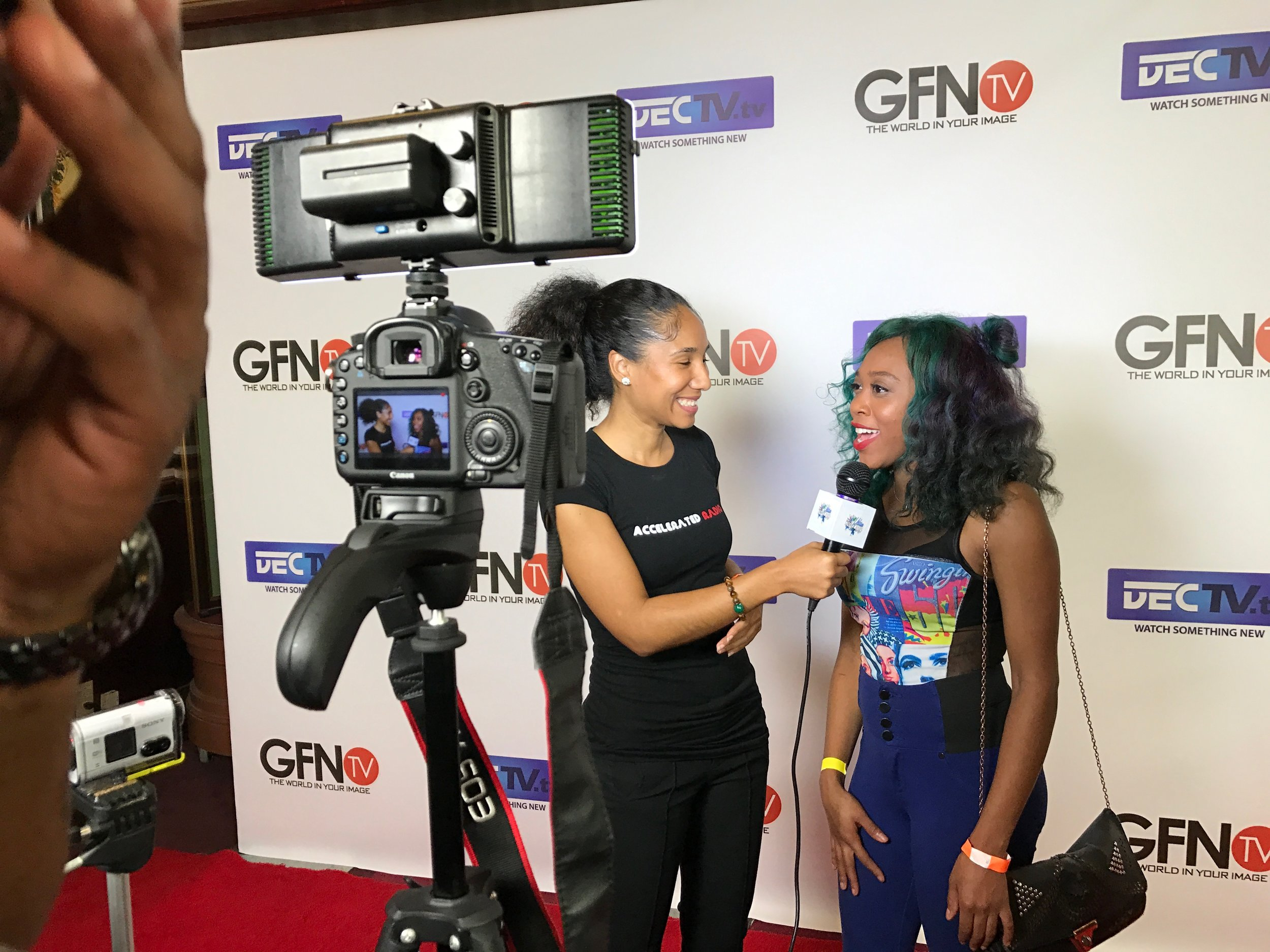 Red Carpet Interview at GFN Mary J. Blige Event