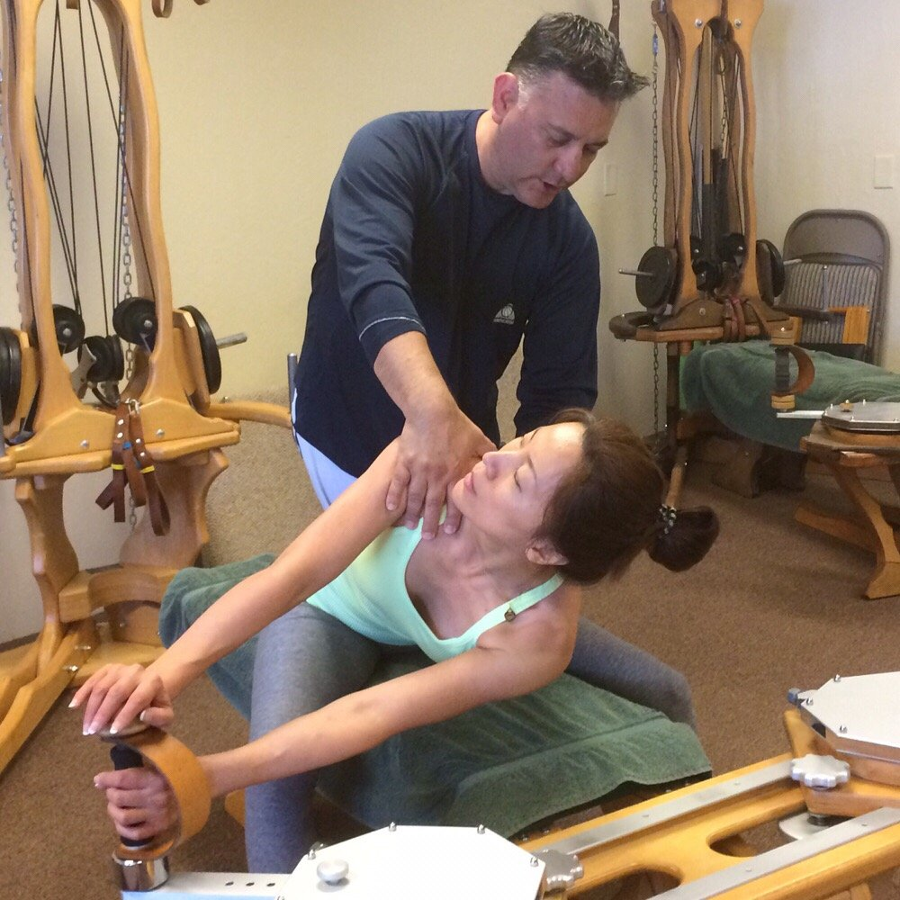 Gyrotonic   Private Training and Duets