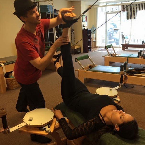 Without a doubt, the most effective way to begin exploring and understanding GYROTONIC® or Pilates exercise systems is one-on-one private sessions.
