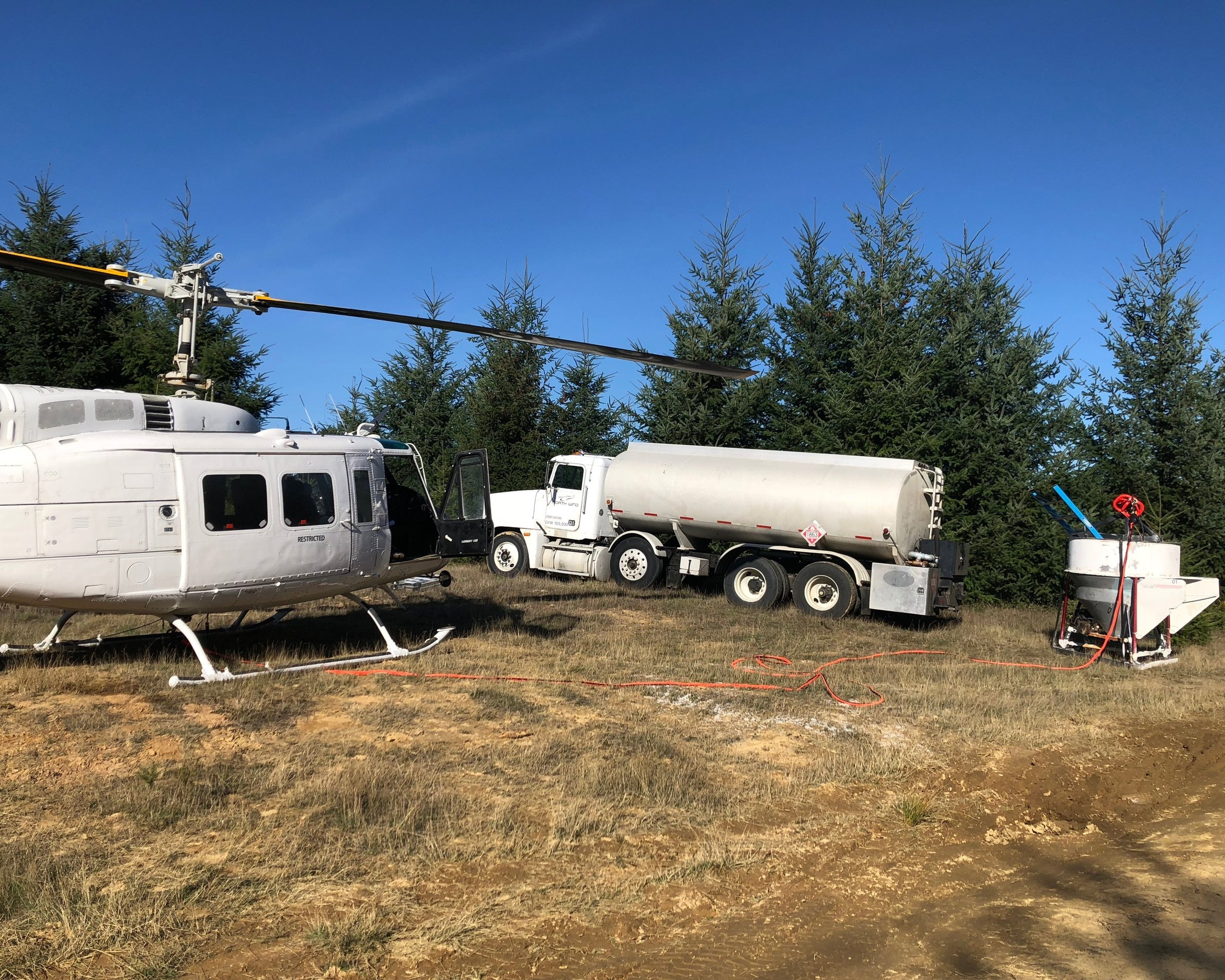 Forestry - With top level GPS mapping tools and our customers can have detailed records of aerial applications. Whether it is fertilizing or herbicide applications, North Wind makes sure your job is done on time and on budget. We do a lot of work in Roseburg, OR but we can go anywhere in the northwest.