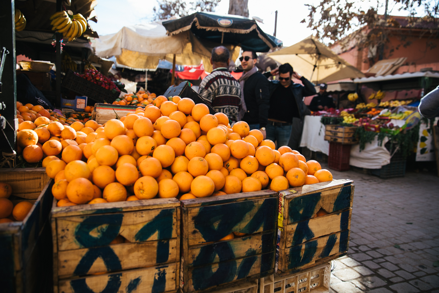 I would have never guessed that the orange juice in Morocco was amazing... definitely get you a glass or 5!