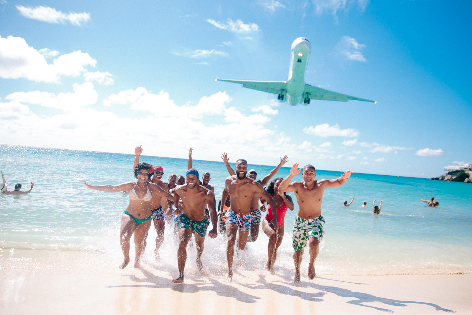 St. Maarten, 2015. Celebrating the 30th Birthday of my good friend  James Bland .   Have you ever wondered how I plan these ridiculous group trips? How I get so many people to go? How I choose the locations? How we choose what to wear? Well I am finally answering all your questions on this post!