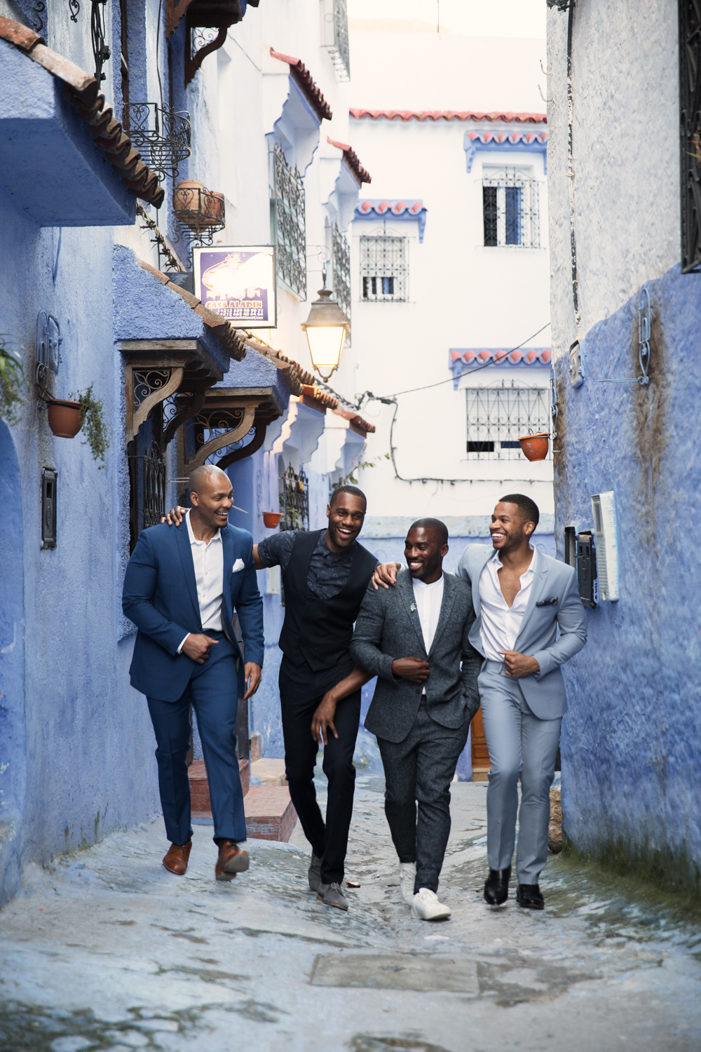 """Chefchaouen, Morocco, 2017.   We walked the mean streets of """"The Blue City"""" for my 35th birthday."""